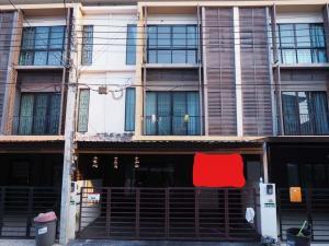 ขายทาวน์เฮ้าส์/ทาวน์โฮมบางแค เพชรเกษม : PN0460 ขายหรือให้เช่า ทาวน์โฮม หมู่บ้าน The Connect Up 3 ทาวน์โฮม 3 ชั้น  3 ห้องนอน 3 ห้องน้ำ พื้นที่ 22 ตร.ว. พื้นที่ใช้สอย 174.46 ตร.ม.