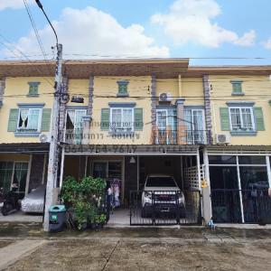 ขายบ้านพัฒนาการ ศรีนครินทร์ : ขาย ทาวน์เฮ้าส์ 2 ชั้น Golden Town 2 อ่อนนุช - พัฒนาการ  โทร 085-161-9569 (TH11-20)
