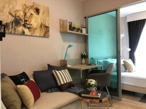 For RentCondoChengwatana, Muangthong : For rent .. Beautiful room, new arrival, Plum Condo Chaengwattana Phase 1, ready to move in. Can make an appointment to see the real room every day