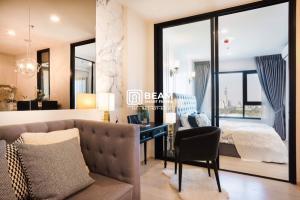 For RentCondoRama9, Petchburi, RCA : LI024_P Condo Life Asoke 💖 Very nice room, fully furnished, drag the luggage into it 😍
