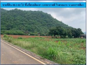 For SaleLandKorat KhaoYai Pak Chong : Land for sale 88-2-82 rai, beautiful area next to the mountain, good atmosphere, beautiful view, Nakhon Ratchasima Province