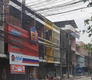 For SaleShophouseSapankwai,Jatujak : BS716 Three-storey commercial building for sale, next to Inthamara Road. 1.5 km away from BTS Saphan Kwai
