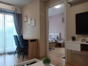 For RentCondoChengwatana, Muangthong : Beautiful room, come again .... at Plum Condo Chaengwattana Station Phase 2, price only 7500 / month.