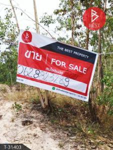 For SaleLandMaha Sarakham : Land for sale, land reclamation, area 74 rai 80 square meters, Nong Saeng, Maha Sarakham.