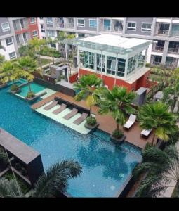 For RentCondoNakhon Pathom, Phutthamonthon, Salaya : m595 for rent, the trust, Nakhon Pathom, inexpensive, ready to move in +++.