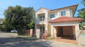 For SaleHouseYothinpattana,CDC : Single House Saransiri Ramintra 2 (Saransiri Ramintra 2) 1 bedroom, 2 bedrooms, 3 bathrooms.