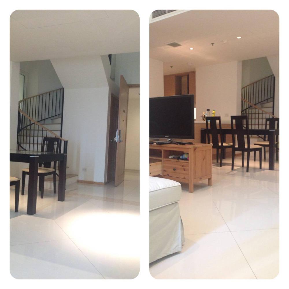 For SaleCondoSathorn, Narathiwat : Best Price ! The Empire Place for sale, 2 BR Duplex, 107 sqm, High Floor