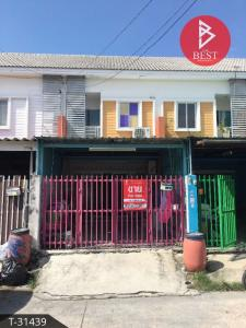 For SaleTownhouseSamrong, Samut Prakan : Townhouse for sale, Kitti Nakhon, Thepharak, Samut Prakan.