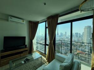 For SaleCondoSathorn, Narathiwat : Sell Condo Bangkok horizon Sathorn - Narathiwas corner room, high floor, beautiful decoration, only 3.55 million baht.