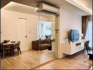 For RentCondoSukhumvit, Asoke, Thonglor : Condo for rent H Sukhumvit 43 Type 1 bedroom 1 bathroom Size 43 sq.m. Floor 9