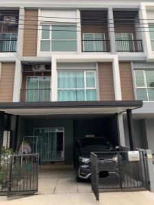 For SaleTownhouseRama 2, Bang Khun Thian : PN0468 3-storey townhome for sale, Lumpini Town Park Village Tha Kham - Rama 2, the house north is not exposed to the sun.