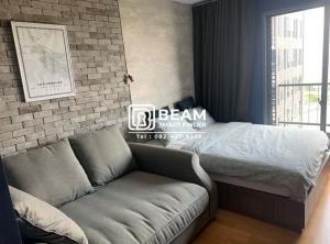 For RentCondoBangna, Bearing, Lasalle : ID006_N ** Ideo Mobi Sukhumvit Eastgate ** 15th floor, communal swimming pool view, ready to move in, near BTS Bangna **