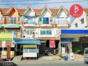 For SaleShophouseSamrong, Samut Prakan : Commercial building for sale Soi Mangkon-Nakee Praeksa, Samut Prakan