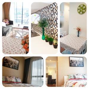 For RentCondoThaphra, Wutthakat : Condo for rent The Estate Thapra 8,000 baht / month near MRT Tha Phra