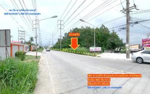 For SaleLandPattaya, Bangsaen, Chonburi : Land for sale in purple area, area 31-2-87 rai, Bo Win, Sriracha, Chonburi.