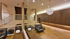 For RentHome OfficeLadprao, Central Ladprao : Home Office for rent, 4 floors, 4 bedrooms, 5 bathrooms, decorated in a studio style, built-in, beautiful, can be both office and residential