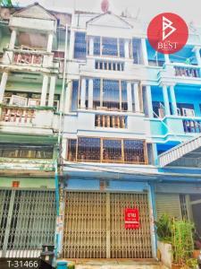 For SaleShophouseRathburana, Suksawat : Cheap commercial building, Suan Thon Village Village, Pracha Uthit 59, Thung Khru, Bangkok.