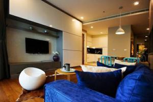For RentCondoSukhumvit, Asoke, Thonglor : Condo for rent Bright Sukhumvit 24 Type 1 bedroom 1 bathroom Size 70 sq.m. Floor 7