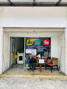 เซ้งพื้นที่ขายของ ร้านต่างๆเชียงใหม่ : เซ้งร้าน ซัก อบ  รีด ติดถนน หลัง มช ร้าน Wash & Dry Laundry เชียงใหม่