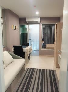 For RentCondoSamrong, Samut Prakan : Condo for rent, The Kith Plus Sukhumvit 113, near BTS Samrong, furniture, appliances very full
