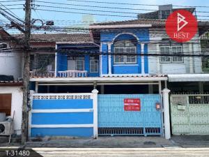 For SaleTownhouseRatchadapisek, Huaikwang, Suttisan : Townhouse for sale Soi Charoen 779, Ratchadaphisek 18, Bangkok