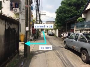 For SaleLandLadprao 48, Chokchai 4, Ladprao 71 : Land for sale in Soi Ladprao 38, size 93 sq.wa, suitable for investment in building dormitories