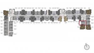ขายดาวน์คอนโดท่าพระ ตลาดพลู : !!! ขายดาวน์ด่วน !!!  คอนโด LIFE Sathorn Sierra (เจ้าของขายเอง) 1 ห้องนอน 32 ตร.ม ชั้น 23 วิวสระและสวน