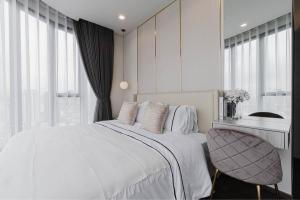 เช่าคอนโดอารีย์ อนุสาวรีย์ : คอนโดติด BTSอนุเสาวรีย์ : ไอดีโอ คิว วิคตอรี่ 2 ห้องนอน 1 ห้องน้ำ แต่งสวยจัด ราคาดี