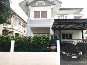 ขายบ้านเอกชัย บางบอน : ขายถูก บ้านเดี่ยว 2 ชั้น ม.กานดา คลาสสิค วิลล์ บางบอน ตกแต่งอย่างดี พร้อมอยู่