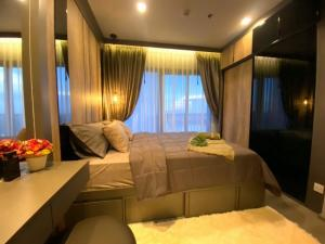 For RentCondoRattanathibet, Sanambinna : For rent, politan aqua, 18th floor, size 30 sq m, river view, beautiful decoration, fully furnished, ready to move in, new room