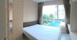 For RentCondoRatchadapisek, Huaikwang, Suttisan : Condo for rent, sea style, near Huai Khwang MRT, Sutthisan, the cheapest.