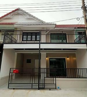 For SaleTownhouseBangbuathong, Sainoi : 🔰 House for sale Pruksa 3, Bang Bua Thong, new renovation