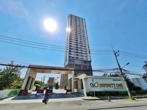 เช่าคอนโดพัทยา บางแสน ชลบุรี : 👉รับ Co-agent 👉ให้เช่าคอนโด อินฟินิตี้วัน ชลบุรีวิวทะเล Infinity One Chonburi ชั้น 21 เครื่องใช้ไฟฟ้า-เฟอร์ครบ