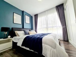 For SaleCondoBangna, Lasalle, Bearing : LL-LS571 Condo for sale, D Condo Sukhumvit 109, Bearing, beautiful room, ready, good price