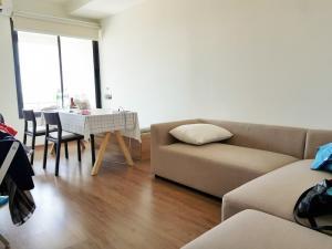 For RentCondoRama3 (Riverside),Satupadit : For rent # Riverside Condo # Condo U Delight Rama 3 51 sq m. 1 bedroom + hall + bathroom 28th floor, beautiful room, river view Fully furnished