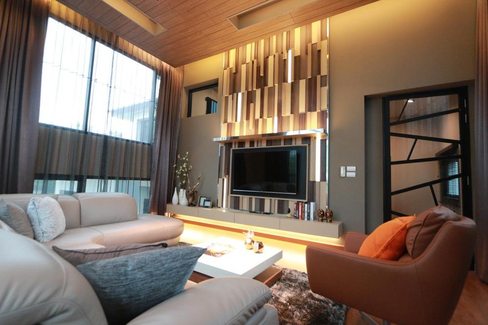 For SaleHouseRatchadapisek, Huaikwang, Suttisan : House for sale Modern style, Ratchada Soi 3, beautifully decorated