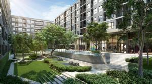 For RentCondoBangna, Lasalle, Bearing : For rent, The Origin Sukhumvit105, has Walk In Closet, special size room 🌟