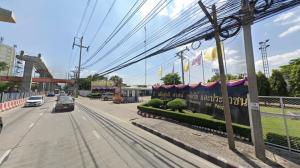For SaleLandRama5, Ratchapruek, Bangkruai : Land for sale on Tiwanon Road, 39,600 baht per square wah, suitable for village projects.