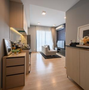 For SaleCondoRattanathibet, Sanambinna : Unio H tiwanon Condo next to BTS, 1 bedroom for only 2.39 million baht, free of charge on transfer date *
