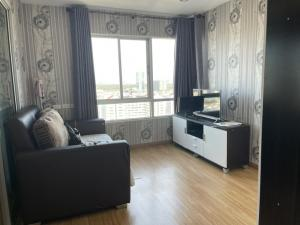 For RentCondoRama3 (Riverside),Satupadit : For rent, The Trust Ratchada-Rama 3, beautiful room, ready on the 29th floor, corner room, beautiful room, complete furniture and electrical appliances. Fully furnished, priced at only 9,000 baht.