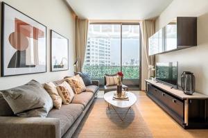 For RentCondoSilom, Saladaeng, Bangrak : Condo for rent Saladaeong One Type 1 bedroom 1 bathroom  Size 58 sq.m. Floor 15