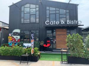 For RentRetailSamrong, Samut Prakan : Coffee shop for rent, milk tea shop, restaurant, good location, N&B PLAZA, Bang Phli, Samut Prakan