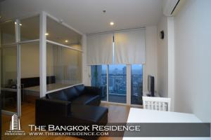 For RentCondoRatchathewi,Phayathai : Shock Price!! 30+ High Floor Codno for Rent Near BTS Ratchathewi - Villa Rachatewi @19,000 Baht/Month