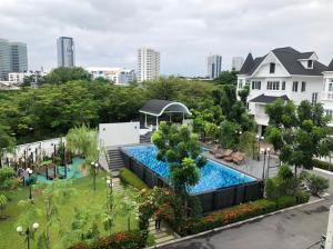 For SaleHouseBangna, Bearing, Lasalle : Single House Fantasia Villa Bangna Village (Fantasia Villa 4)
