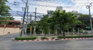 For SaleLandSathorn, Narathiwat : SL0040 Land for sale 264 square meters, width 21 meters, Narathiwas Ratchanakarin Road, Chong Nonsi