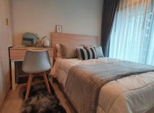 For RentCondoRama9, RCA, Petchaburi : New condo for rent, 1 Bed plus Life Asoke Rama 9, beautiful decorated room, ready to move in.