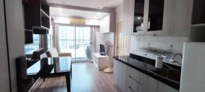 For RentCondoRatchadapisek, Huaikwang, Suttisan : FOR RENT CONDO A SPACE HIDEAWAY ASOKE-RATCHADA  SIZE 53 sq.m Contact Mobile & Line id : 095-609-9165