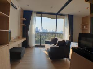 เช่าคอนโดอ่อนนุช อุดมสุข : ให้เช่า ห้องสว่างตกแต่งสวยมาก !! คาวะ เฮาส์ Kawa Haus คอนโด ในโครงการ T77  BTS อ่อนนุช, 29 ตรม., ชั้น 7, 1 ห้องนอน, เพดานสูง 2.7 ม.