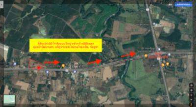 For SaleLandSa Kaeo : Land for sale 20 rai Next to Highway 359 Sa Kaeo-Sa Kwan heading to Watthana Nakhon