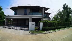 For SaleHousePinklao, Charansanitwong : House for sale Setthasiri Village Pinklao - Kanchana Usable area 278 sq m. AN133